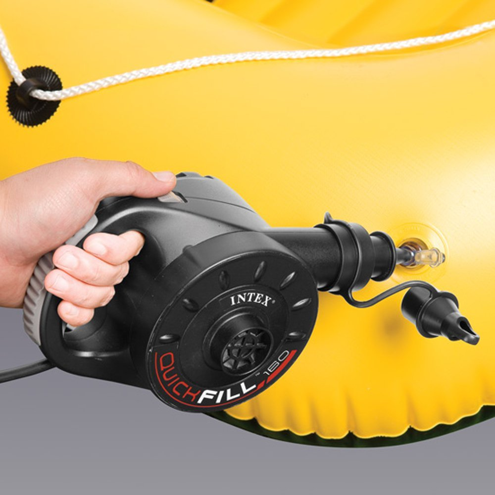 Intex electric air pump for air beds