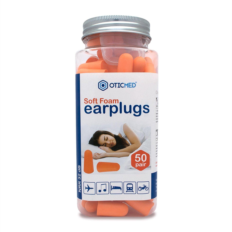 OTICMED Foam Ear Plugs for Sleeping
