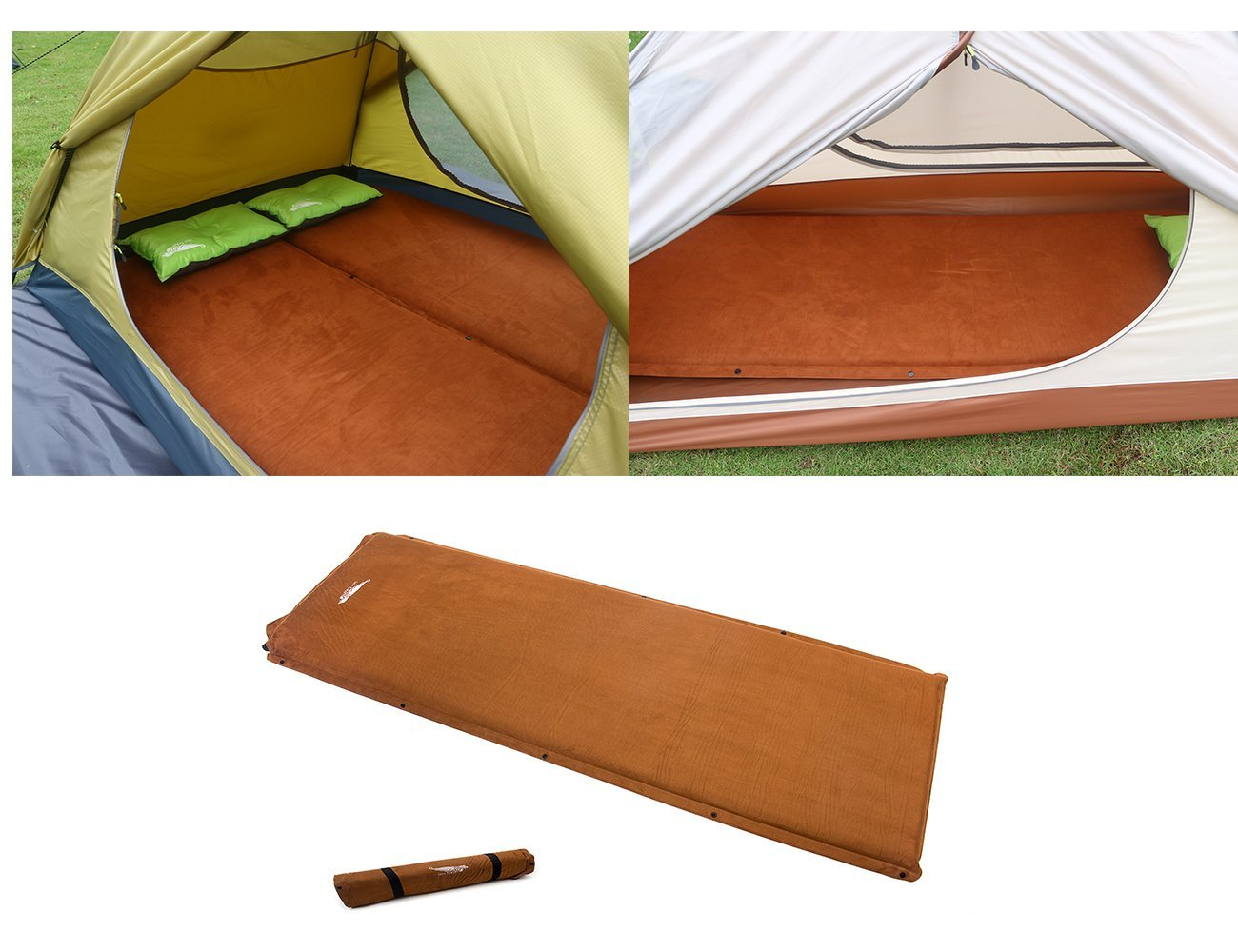Self-Inflating Camping Pad