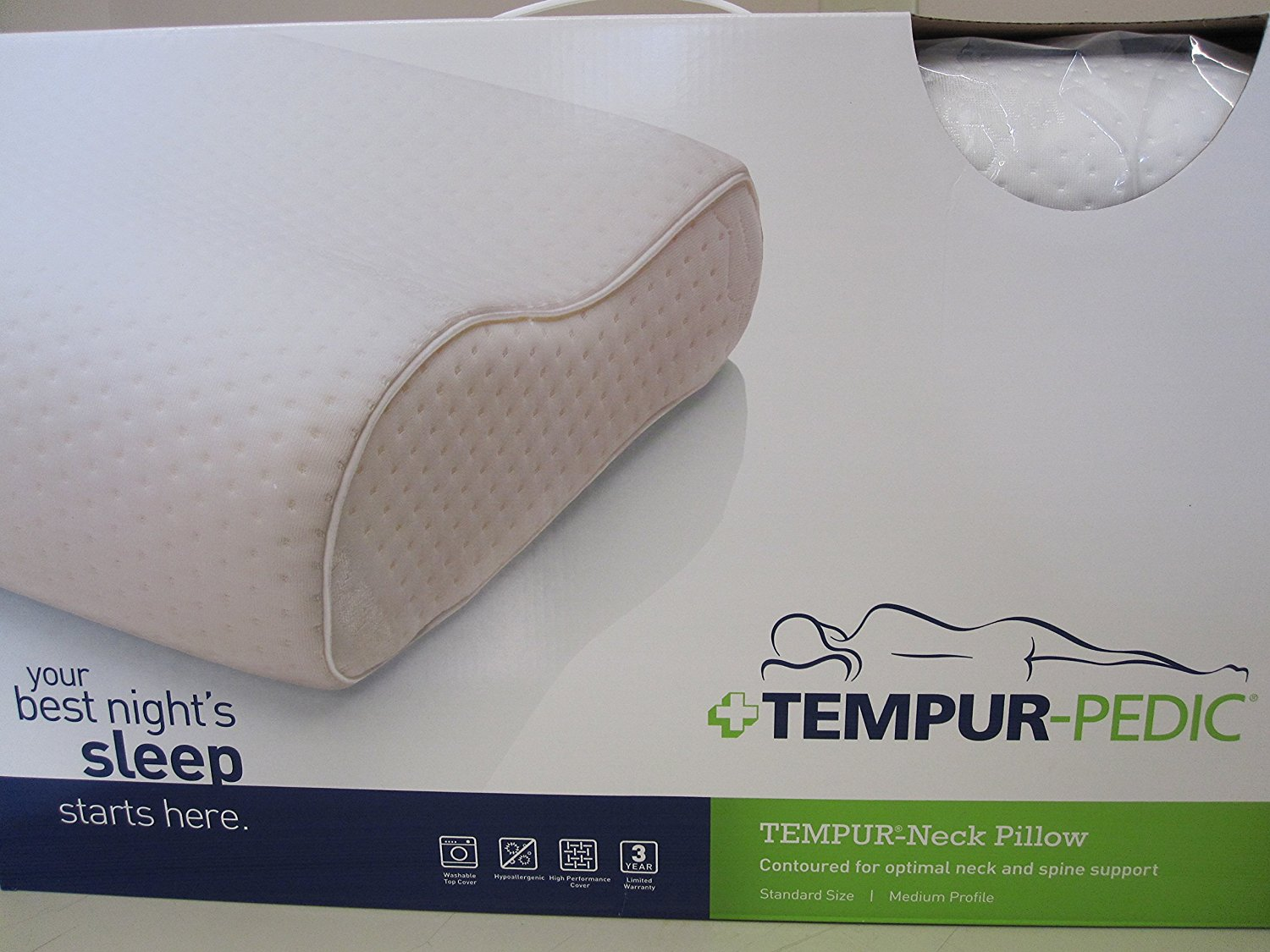 Swedish Neck Pillow from Tempur-Pedic